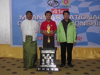 1 - IM Wynn Zaw Htun - 6th Time Champion