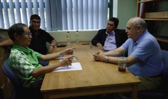 Leong-Pichay-Adianto-Khodarkovsky Meeting